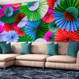 Papier peint -   Colorful Cotillions