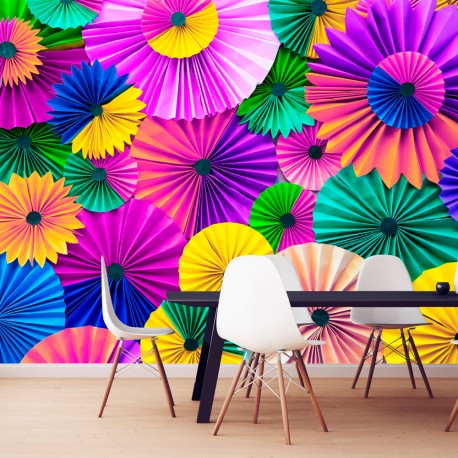 Papier peint  Paper Kaleidoscope