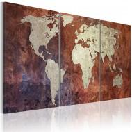 Tableau  Continents dacier