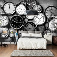 Papier peint  Retro Clocks
