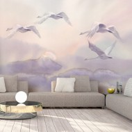 Papier peint  Flying Swans