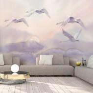 Papier peint  Flying Swans