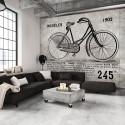 Papier peint - Bicycle (Vintage)