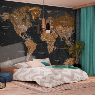 Papier peint  World Stylish Map