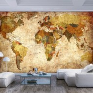 Papier peint  Old World Map