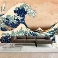 Papier peint  Hokusai The Great Wave off Kanagawa (Reproduction)
