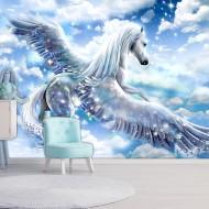 Papier peint  Pegasus (Blue)