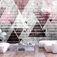 Papier peint  Triangles