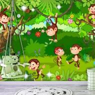 Papier peint  Monkey Tricks