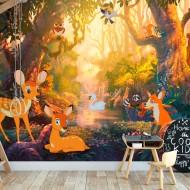 Papier peint  Animals in the Forest