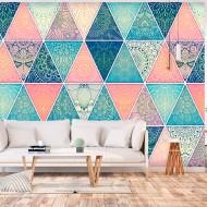 Papier peint  Oriental Triangles