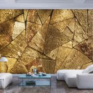 Papier peint  Pavement Tiles (Golden)