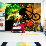 Papier peint  Bicycle Tricks