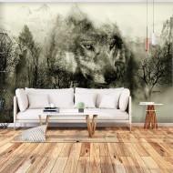 Papier peint  Mountain Predator (Beige)