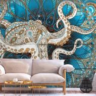Papier peint  Zen Octopus
