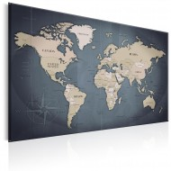 Tableau  World Map Shades of Grey