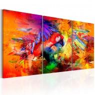 Tableau  Colourful Parrot