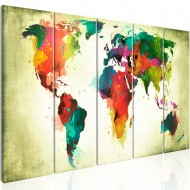Tableau  Unusual World Map