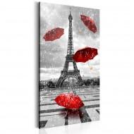 Tableau  Paris Red Umbrellas