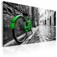 Tableau  Vintage Green Bike