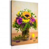 Tableau  Flowery Charm