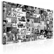 Tableau  Banksy Graffiti Collage