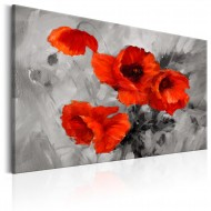 Tableau  Steel Poppies