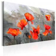 Tableau  Poppies (Watercolour)