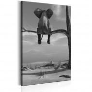 Tableau  Resting Elephant