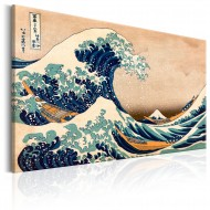 Tableau  The Great Wave off Kanagawa (Reproduction)