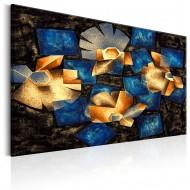 Tableau  Geometrical Flowers