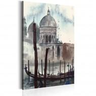 Tableau  Venise à laquarelle