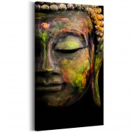 Tableau  Buddhas Face