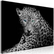 Tableau  Leopard Portrait (1 Part) Wide