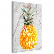 Tableau  Pineapple and Marble (1 Part) Vertical