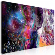 Tableau  Colourful Galaxy (1 Part) Wide