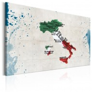 Tableau  Map Italy