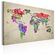Tableau  World Map World Tour (EN)