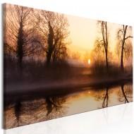 Tableau  Winter Sunset (1 Part) Narrow