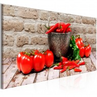 Tableau  Red Vegetables (1 Part) Brick Narrow
