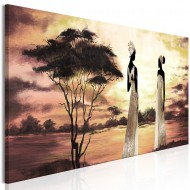 Tableau  African Goddesses (1 Part) Narrow