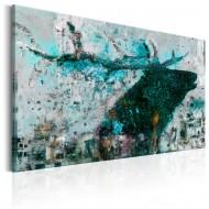 Tableau  Sapphire Deer