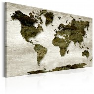 Tableau  World Map Green Planet