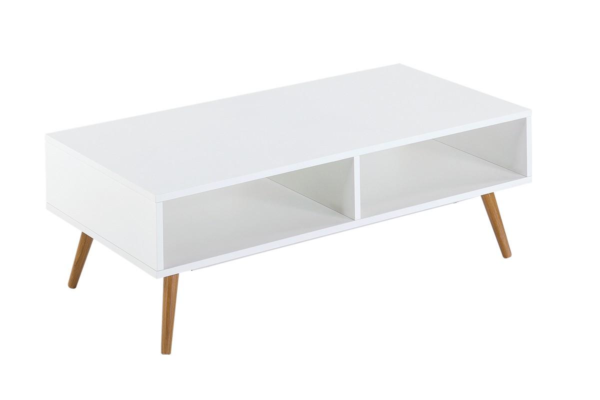 Beste von pieds table basse id es de conception de table - Table basse blanche pied bois ...