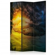Paravent 3 volets  Twilight over the Valley [Room Dividers]