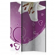Paravent 3 volets  Melody of Love [Room Dividers]