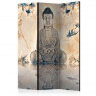 Paravent 3 volets  Buddha of Prosperity [Room Dividers]