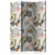 Paravent 3 volets  Tropical Geometry [Room Dividers]