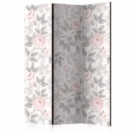 Paravent 3 volets  Watercolor Roses [Room Dividers]