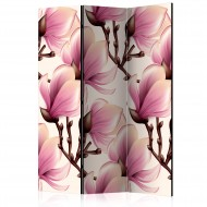 Paravent 3 volets  Blooming Magnolias [Room Dividers]
